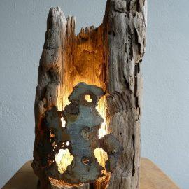 Treibholzlampe 11