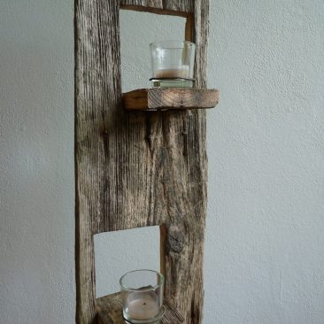 Stufen – Kerzenständer