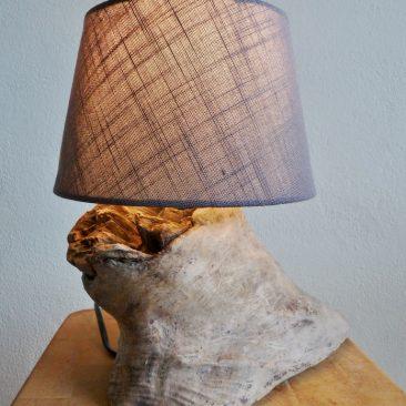 Treibholzlampe 14