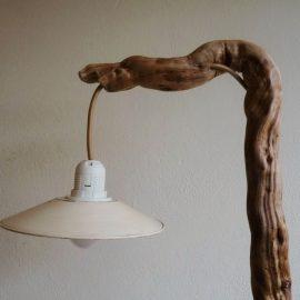 Treibholzlampe 17