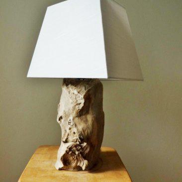 Treibholzlampe 18
