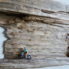 Wandbild – Zweiräder